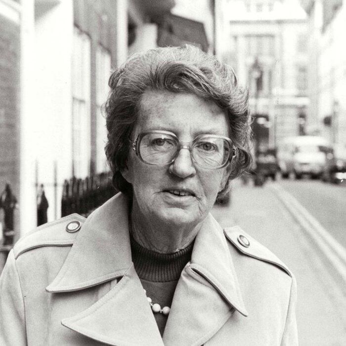 Die Paläoanthropologin Mary Leakey (1913–1996)